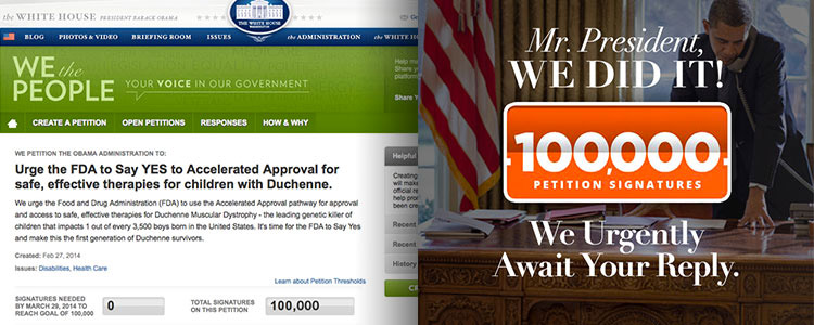 100,000 Petition Signers